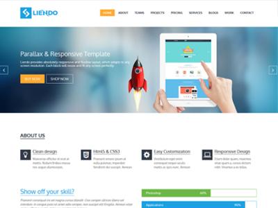 Liendo – Multipurpose Landing Page Template – 5 Dollar HTML