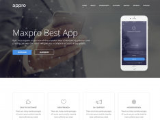 Appro – Multipurpose Landing Page Template